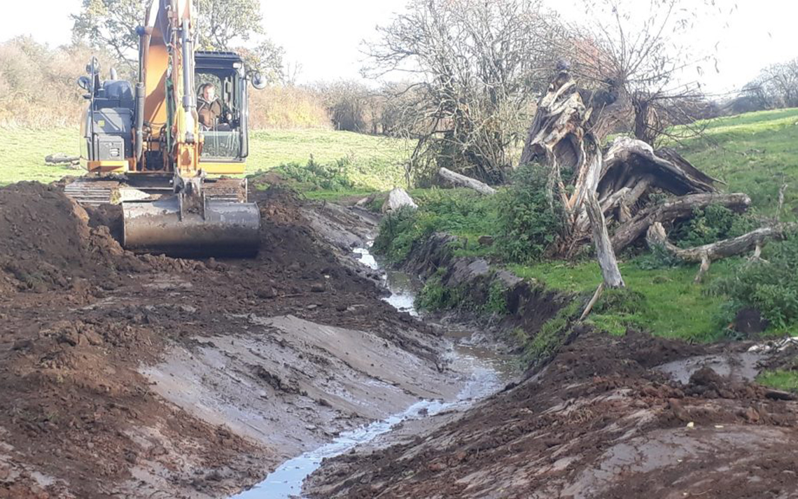 Lowdham Natural Flood Management Project